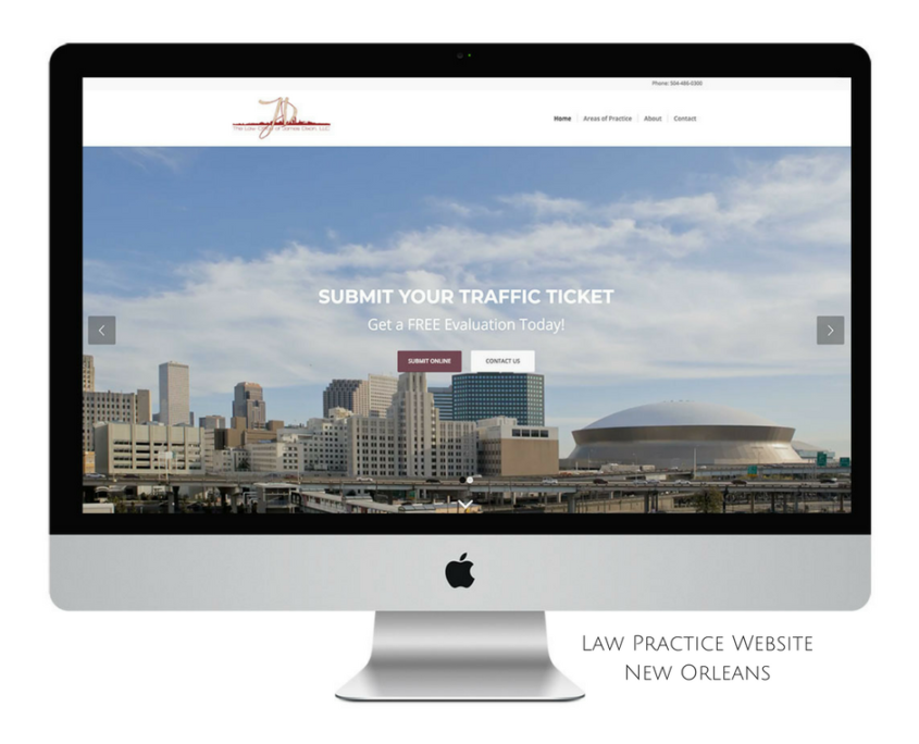 New Orleans Law Practice Web Design