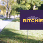 Doug Ritchie for Mayor Political Logo