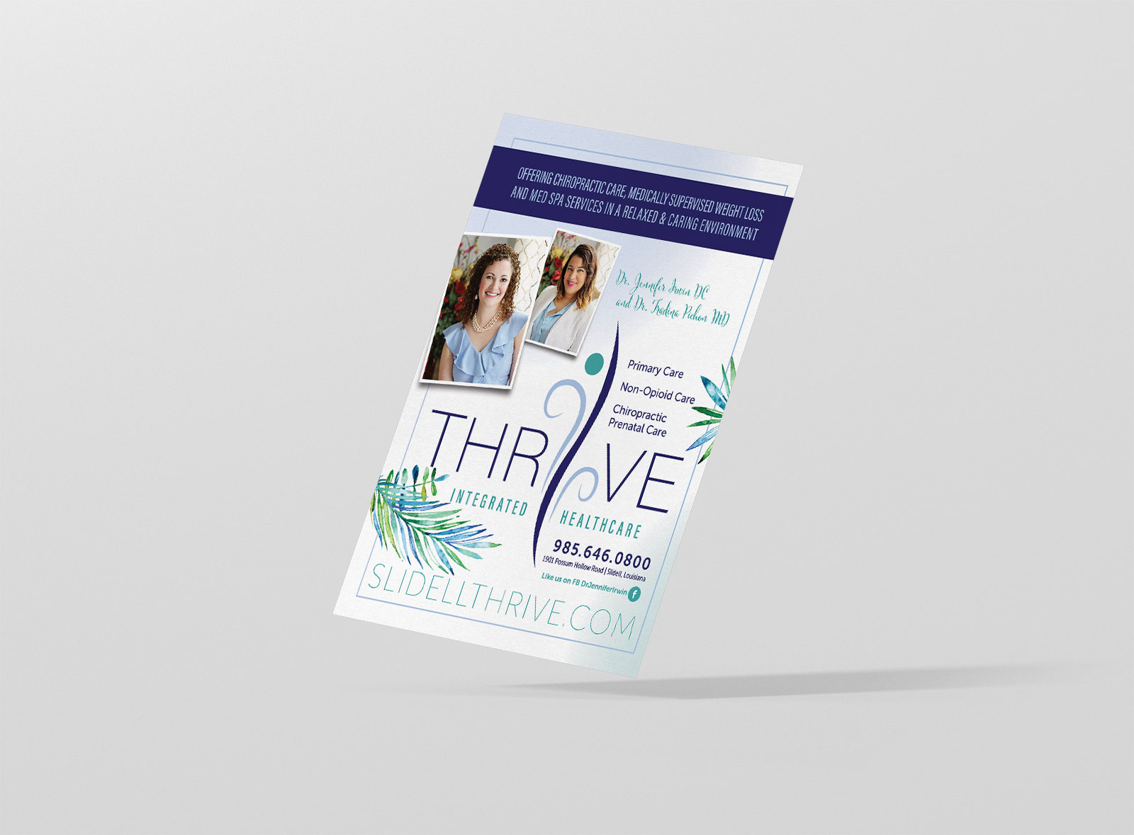 Flyer Design - Thrive Integrated Healthcare