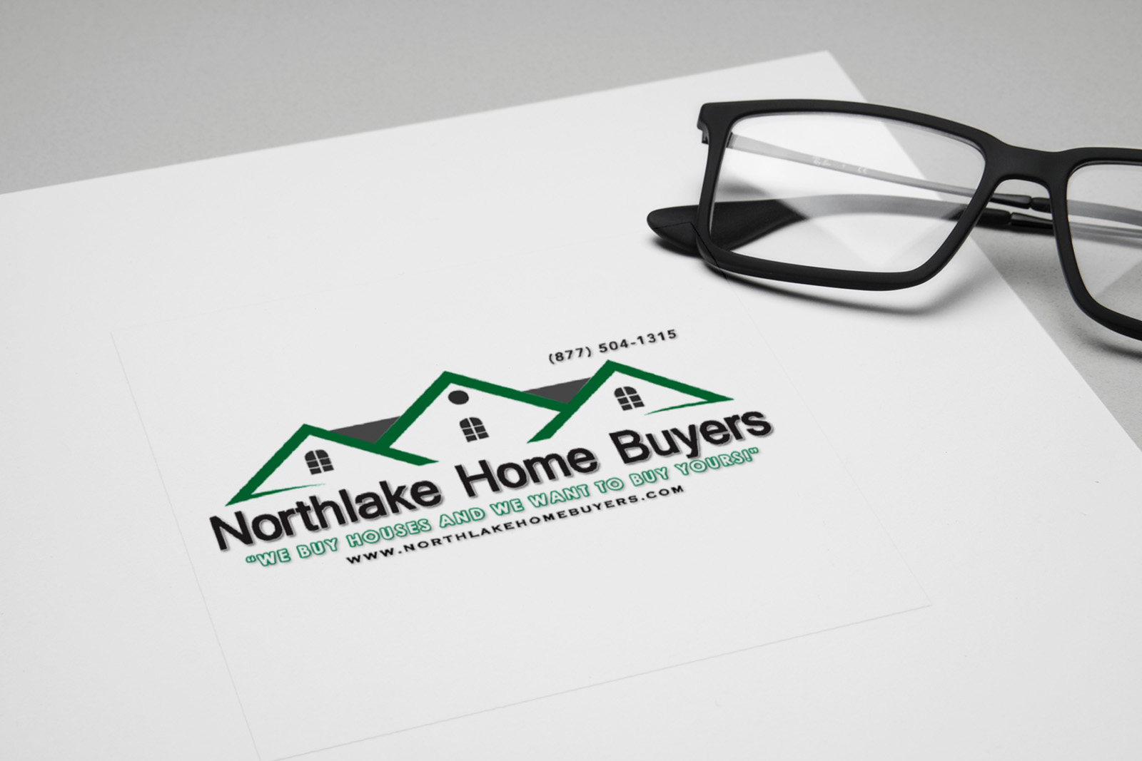 Northlake Home Buyers Logo Design