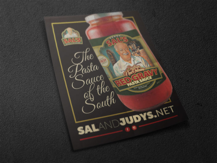 Sal and Judy's Flyer