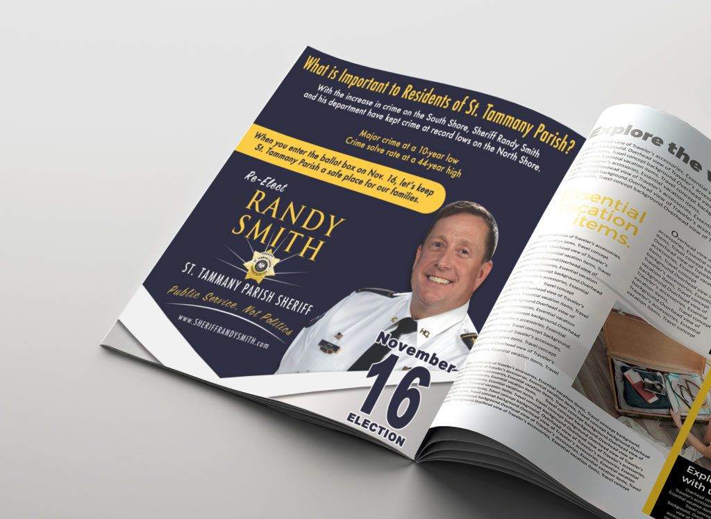 Sheriff Randy Smith Magazine Ad
