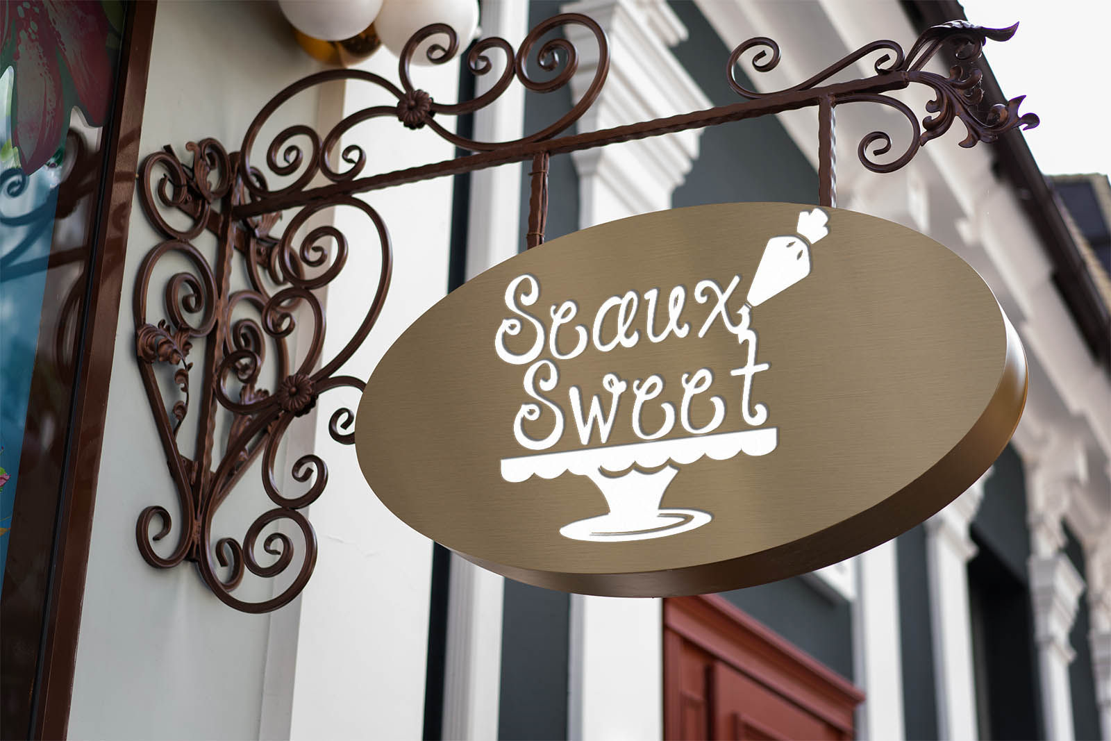 seaux sweet logo design
